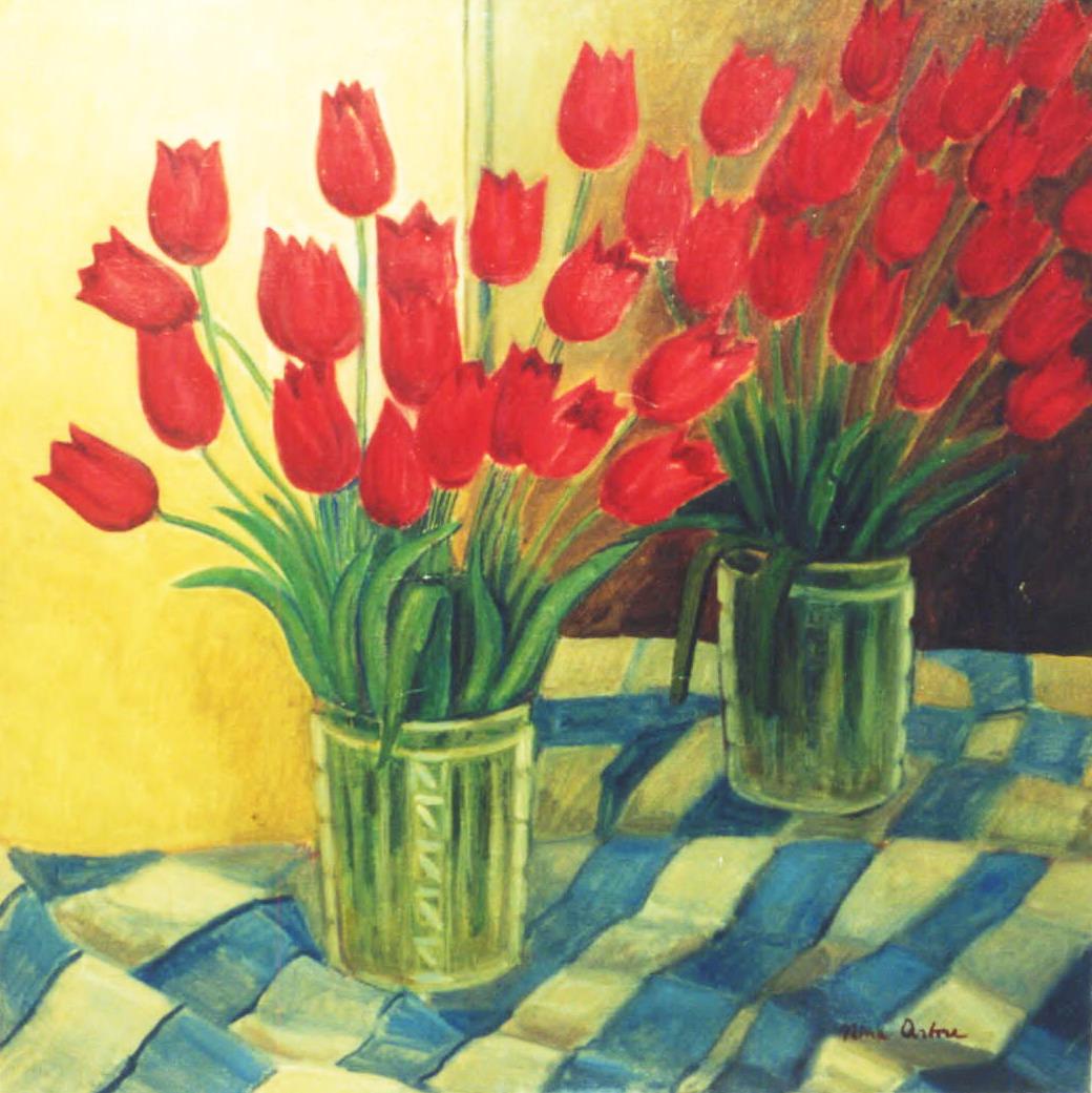 Nina Arbore – Flowers, Bucharest Municipality Museum