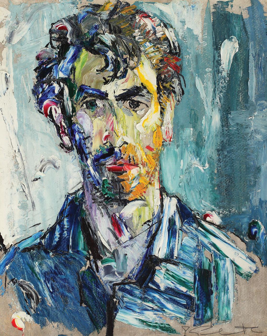Self-portrait [late 1950s], private collection