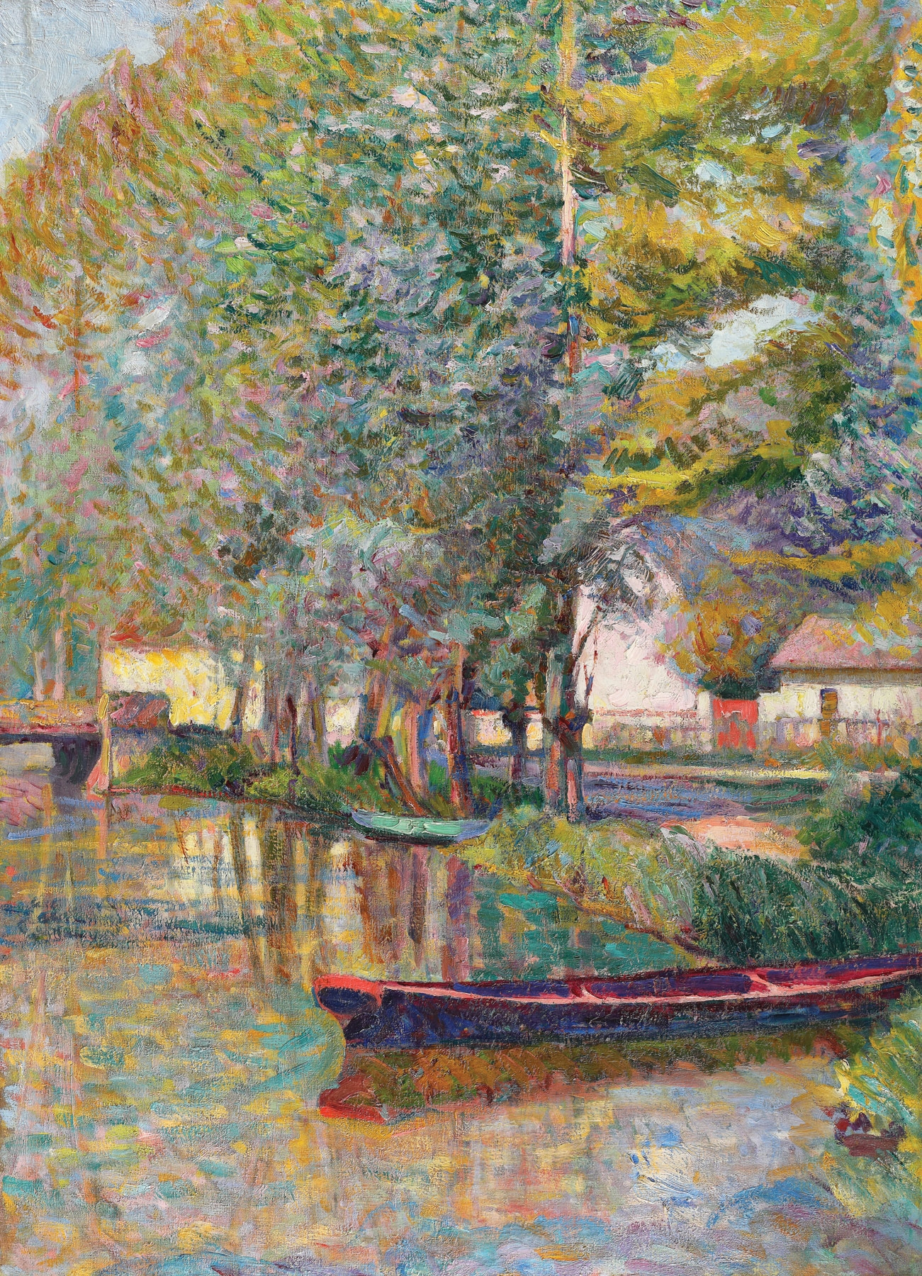 Canal at Pont-Aven [cca. 1912], private collection