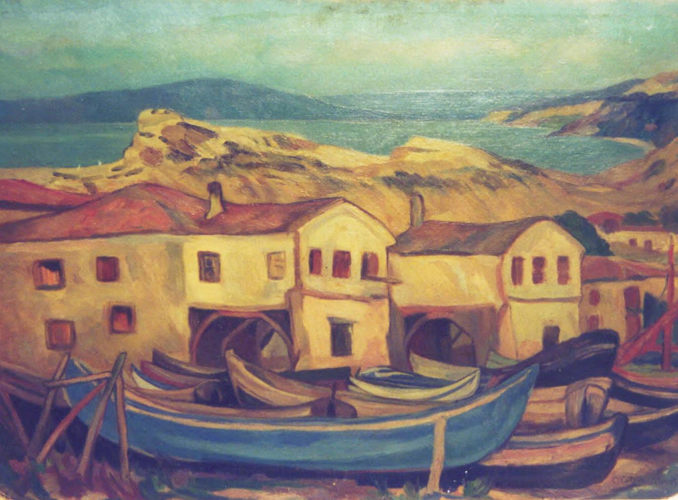 Cutescu Cecilia Storck - Case, Muzeul Municipiului București