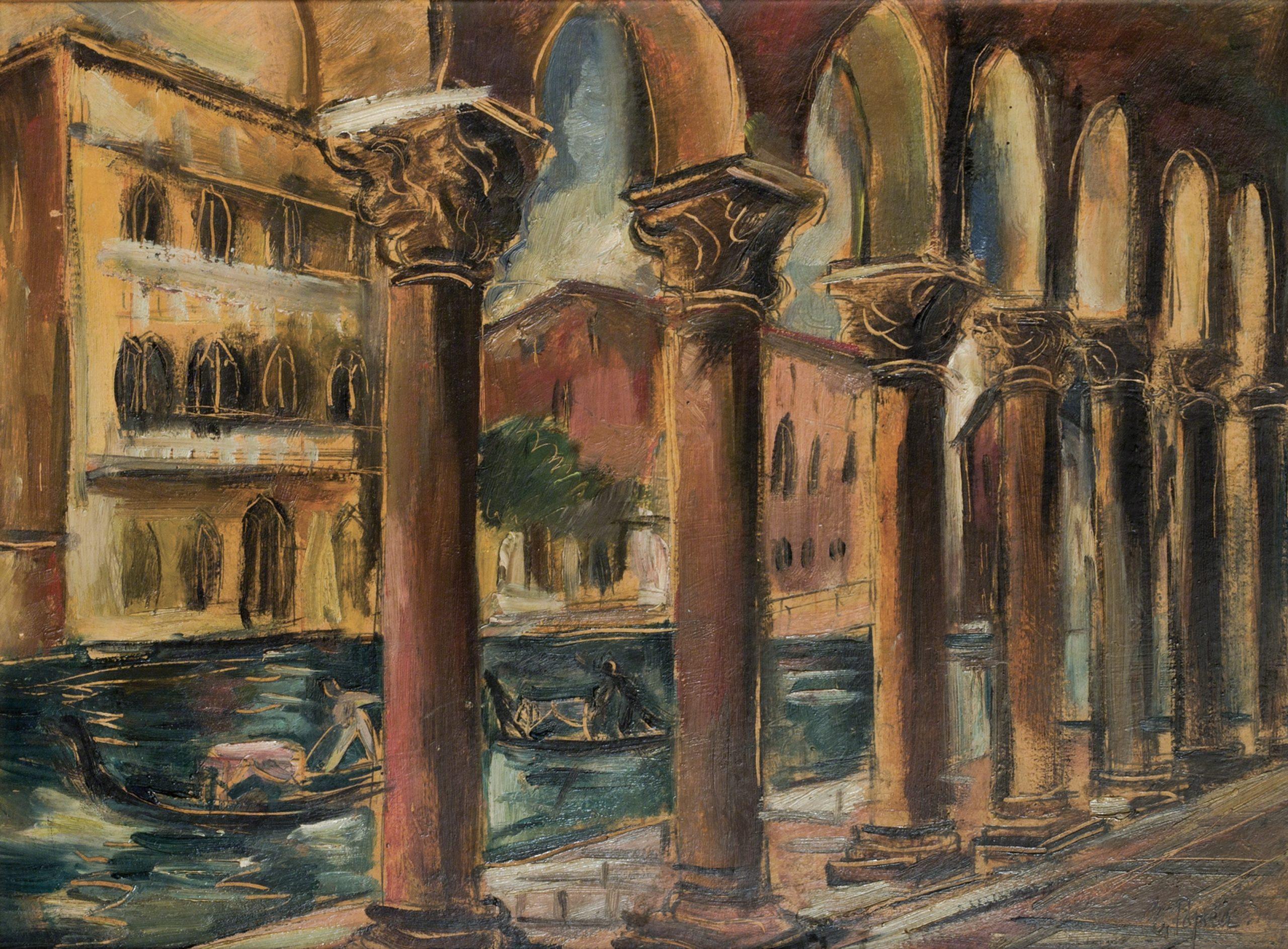 Elena Popea - Venice, Bucharest Municipality Museum