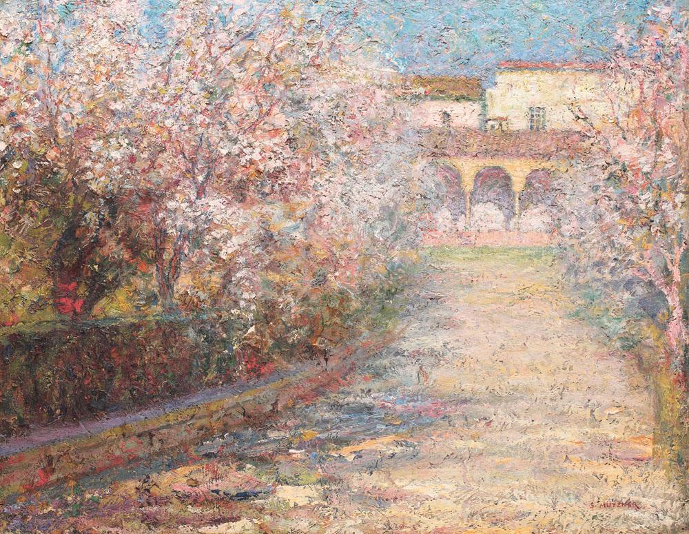 Grădini în Sevilla, colecție privată