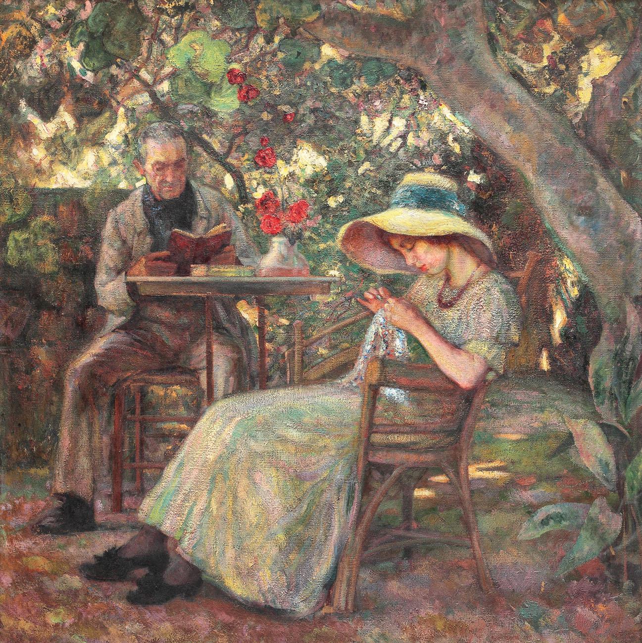 În grădină la Beaucaire, colecție privată
