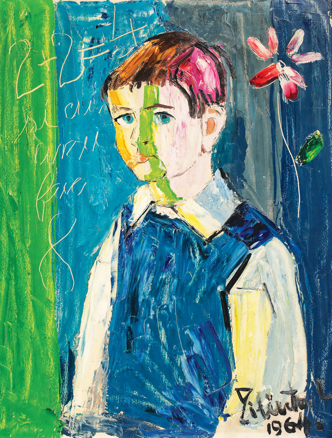 Tangled in calculations [1964], private collection