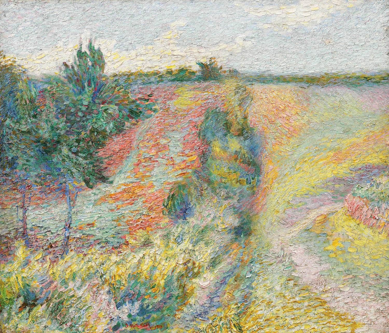 Peisaj provensal [1907], colecție privată