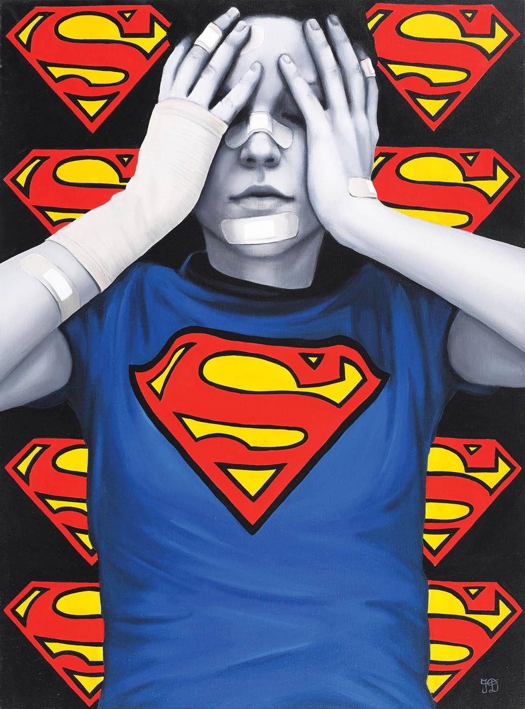 Irina Dragomir - Superwoman [2020] - colecție privată