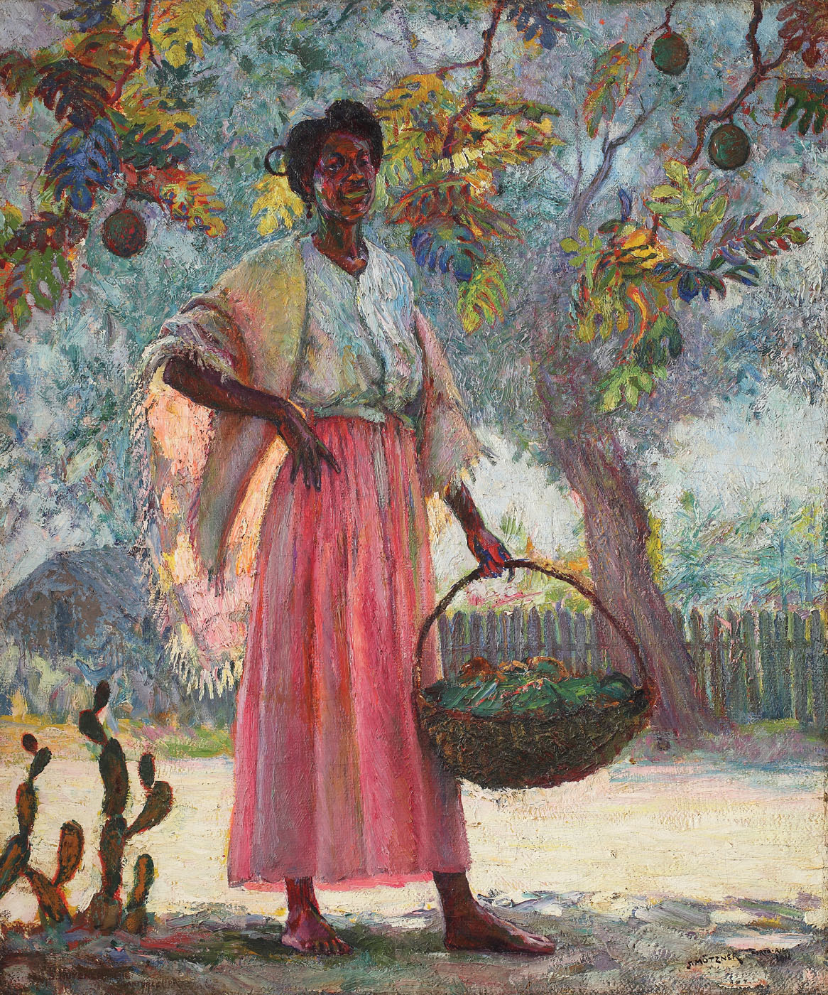 The Fruit Seller [1916], private collection